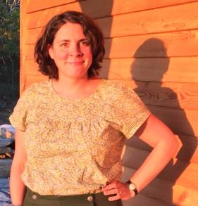 Ann Carolyn smock, summer 2016